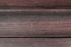 Dry brown wood texture Stock Photography