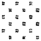 Dry brush pattern Stock Photos