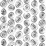 Dry brush pattern Royalty Free Stock Photo