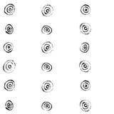 Dry brush pattern Stock Images