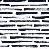 Dry brush stripe pattern Royalty Free Stock Photo