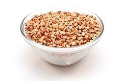 Dry buckwheat groats Royalty Free Stock Photos