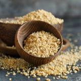 Dry bulgur wheat grains royalty free stock photo