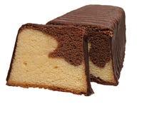 Dry cake. Isolated over white background Royalty Free Stock Image