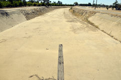 Dry canal. Stock Images