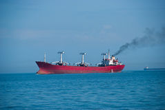 The dry-cargo ship Royalty Free Stock Images