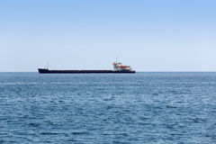 Dry cargo ship Royalty Free Stock Photo