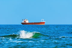 Dry Cargo Ship Royalty Free Stock Images