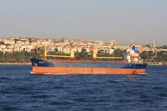 Dry cargo ship Royalty Free Stock Image