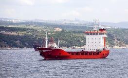 Dry Cargo Ship Stock Photography