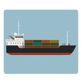 Dry cargo ship Stock Photography