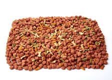 Dry Cat dog food Royalty Free Stock Photography