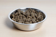 Dry cat food Stock Images