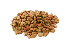 Dry cat food Royalty Free Stock Photo