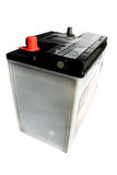 Dry cell battery. On the white background Stock Photos