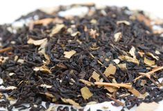 Dry  Ceylon tea,in studio Royalty Free Stock Images