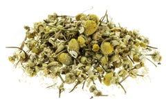 Dry chamomile herb Stock Photo