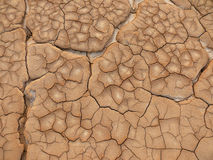Dry and chapped ground Royalty Free Stock Photography