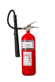 Dry chemical fire extinguisher on white background. With clipping path Royalty Free Stock Photography