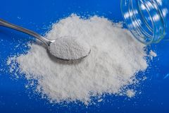 Dry Chemical Powder. Could be a natural chemical extract or prod. Uct of industrial chemistry Royalty Free Stock Images