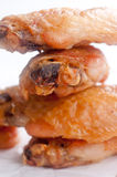 Dry chicken wings with no sauce Royalty Free Stock Photos