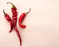 Dry chili. Dry red chili. Inrgedient for cooking Stock Image