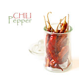 Dry chili. Stock Image