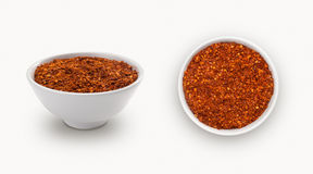 Dry chili powder Stock Images