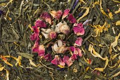Dry chinese tea Royalty Free Stock Photo