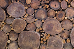 Dry chopped firewood Royalty Free Stock Photo