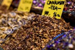 Dry cinnamon tea Royalty Free Stock Image