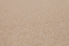 Dry clean sand background with narrow focus Royalty Free Stock Photos