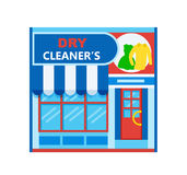 Dry cleaner& x27;s icon Royalty Free Stock Photos