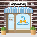 Dry cleaning service Royalty Free Stock Photos