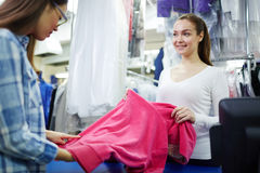 Dry-cleaning service Stock Photo
