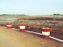 A dry coast in Ireland. A dry coast into Ireland Royalty Free Stock Images