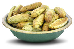 Dry cookies of nettle. Homemade cookies dry of nettle in a clay bowl stock images