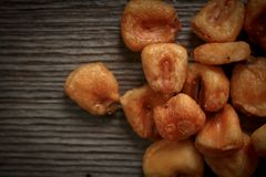 Dry corn snacks Royalty Free Stock Photo