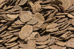 Dry cow dung, India Stock Photos