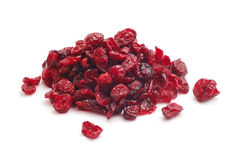 Dry cowberries Stock Images