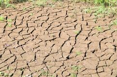 Dry crack earth or mud texture in drought area, environmental an. Dry crack earth or clay texture in drought area, environmental and disaster concept stock photo