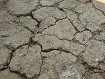 Dry Crack soil earth​cracked​. Land of dry Stock Photography