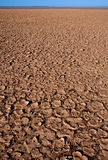 Dry cracked dirt surface Royalty Free Stock Images