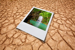 Dry cracked earth Royalty Free Stock Image