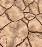 Dry cracked earth Stock Photo