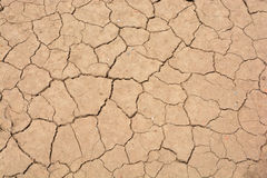 Dry and cracked earth. Background Royalty Free Stock Photography