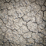 Dry cracked earth background, clay desert texture Royalty Free Stock Images