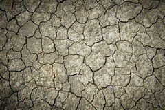Dry cracked earth background, clay desert texture Royalty Free Stock Photos