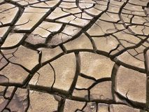 Dry cracked earth background Stock Photography