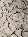Dry Cracked Earth - Drought Royalty Free Stock Image